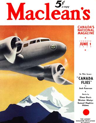 Cover for the June 1 1939 issue
