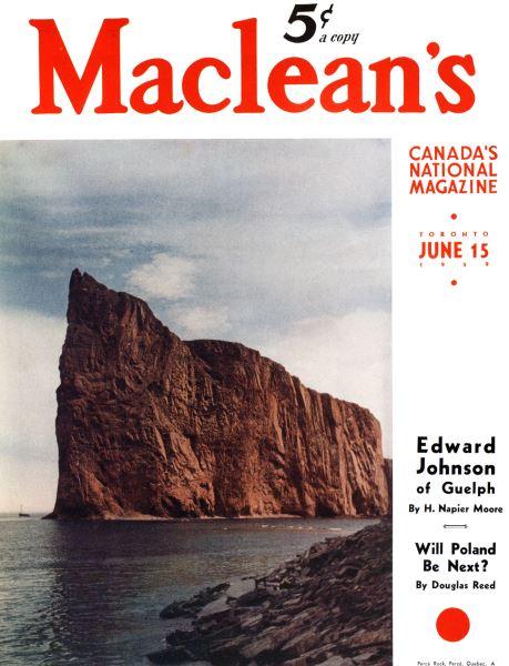 Issue: - June 1939   Maclean's