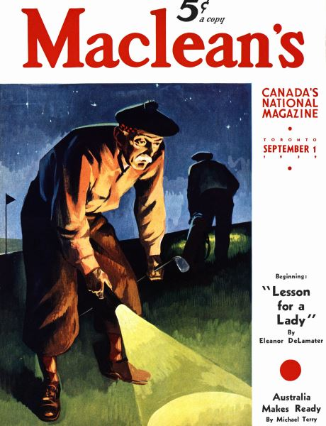 Issue: - September 1939 | Maclean's