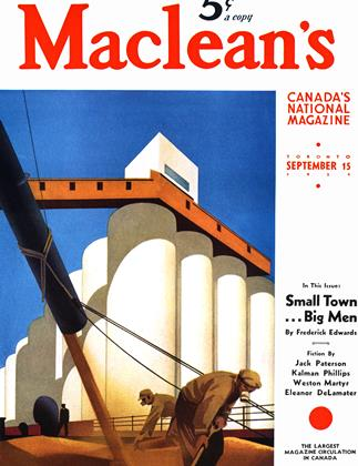 Cover for the September 15 1939 issue