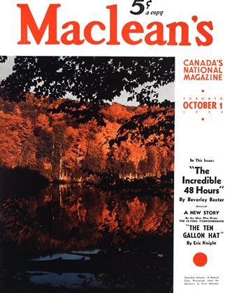 OCTOBER 1 1939 | Maclean's