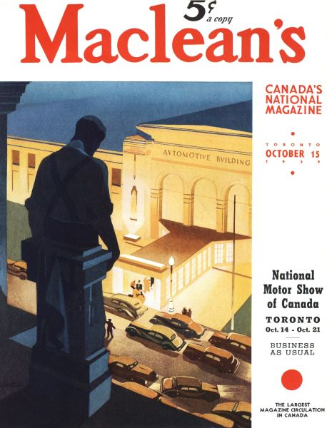 Issue: - October 1939 | Maclean's