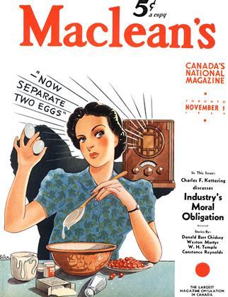 NOVEMBER 1 1939 | Maclean's