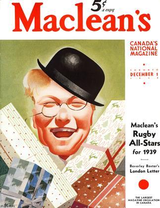 DECEMBER 1 1939 | Maclean's