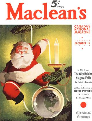 Cover for the December 15 1939 issue