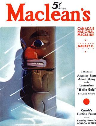 JANUARY 15, 1940 | Maclean's