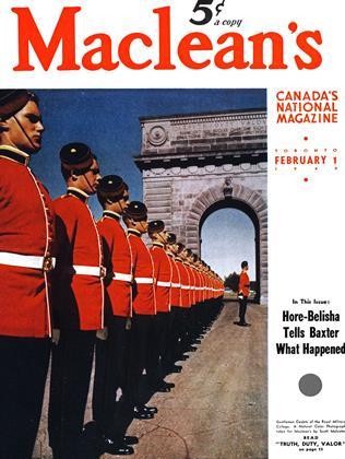 FEBRUARY 1 1940 | Maclean's