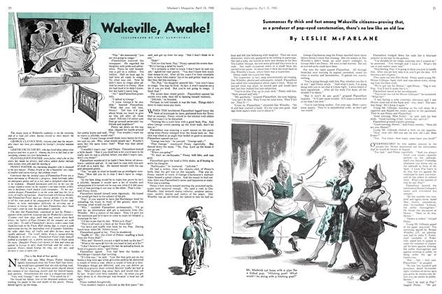 Wakeville, Awake!