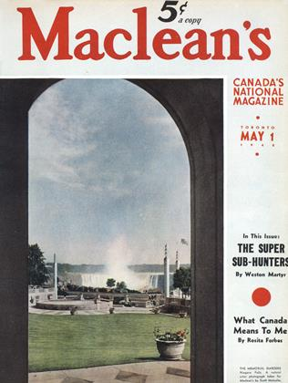 Cover for the May 1 1940 issue