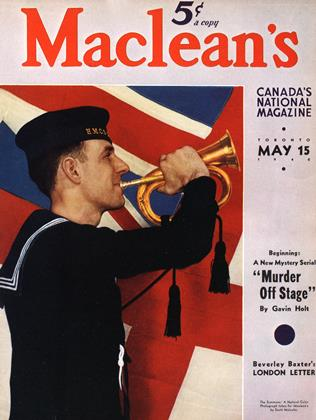 Cover for the May 15 1940 issue