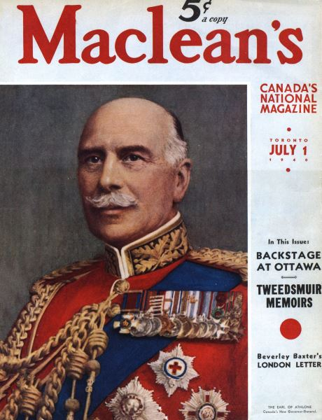 Issue: - July 1940 | Maclean's