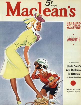 Cover for the August 1 1940 issue