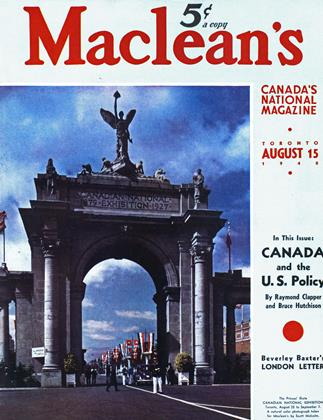 Cover for the August 15 1940 issue
