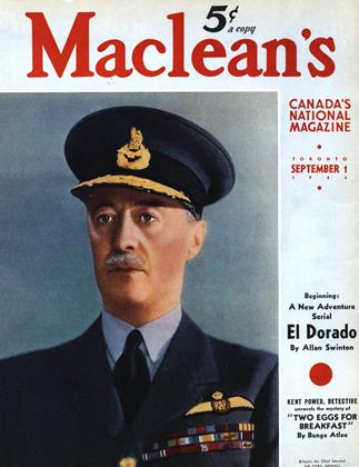 Cover for the September 1 1940 issue