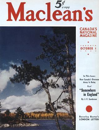 OCTOBER 1 1940 | Maclean's