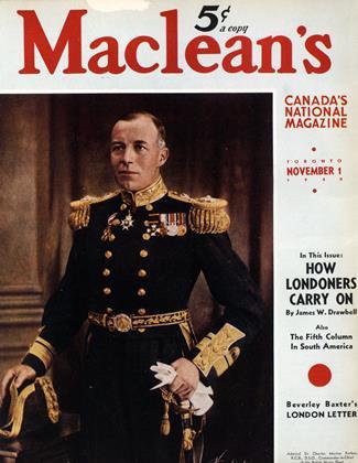 NOVEMBER 1 1940 | Maclean's