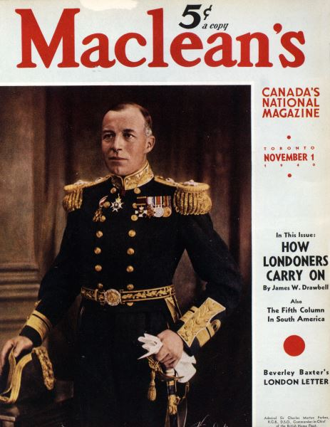 Issue: - November 1940 | Maclean's