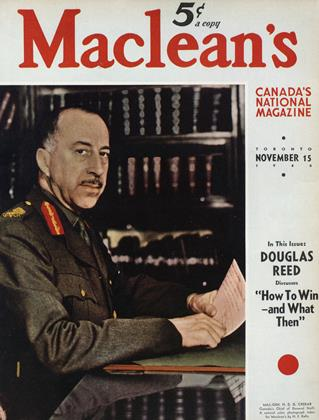 Cover for the November 15 1940 issue