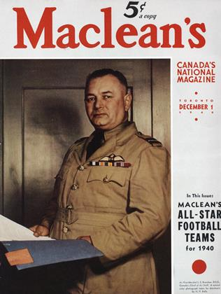 DECEMBER 1 1940 | Maclean's