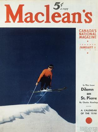 JANUARY 1 1941 | Maclean's