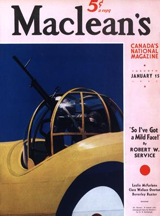 Cover for the January 15 1941 issue