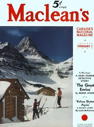 FEBRUARY 1 1941 | Maclean's