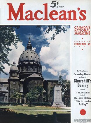 Cover for the February 15 1941 issue
