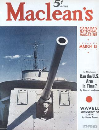 Cover for the March 15 1941 issue