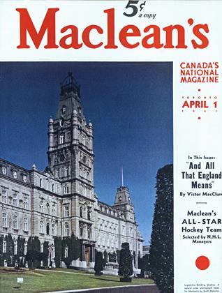 APRIL 1, 1941 | Maclean's