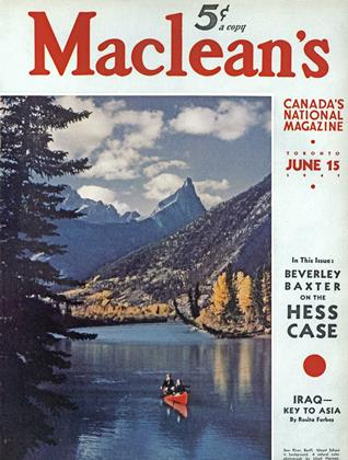Cover for the June 15 1941 issue