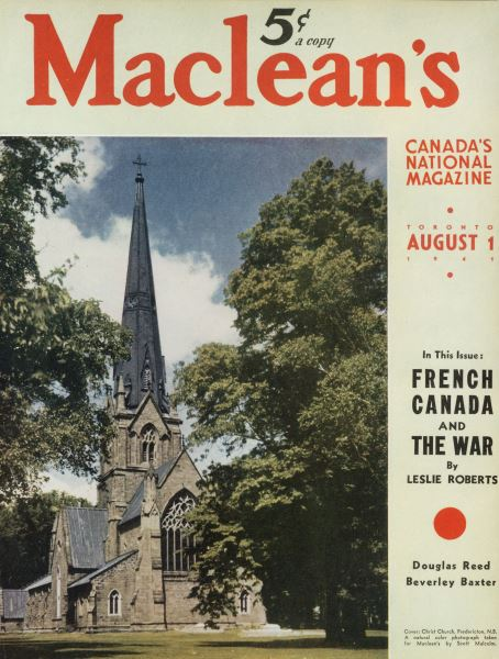 Issue: - August 1941 | Maclean's