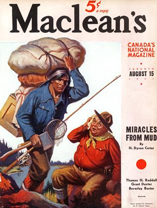 Cover for the August 15 1941 issue