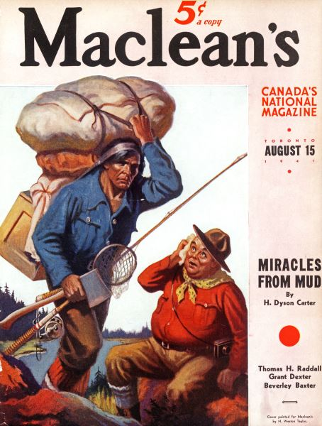 Issue: - TORONTO AUGUST 15 1941 | Maclean's
