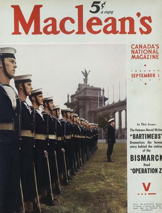 Cover for the September 1 1941 issue
