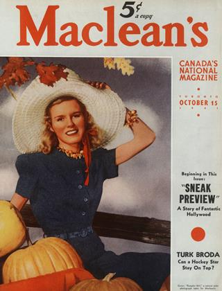 Cover for the October 15 1941 issue