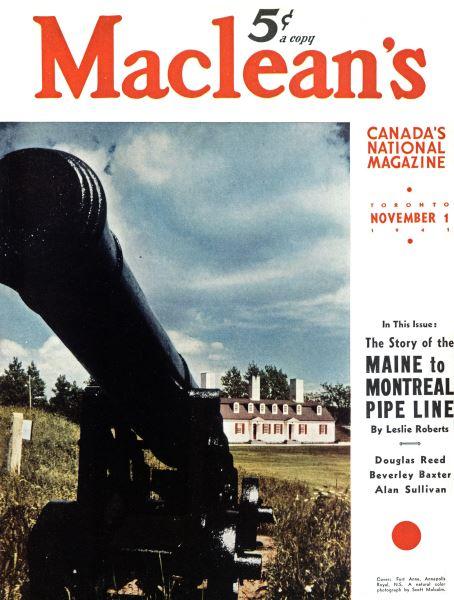 Issue: - November 1941   Maclean's