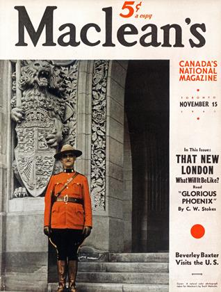 Cover for the November 15 1941 issue