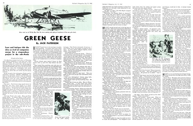 GREEN GEESE