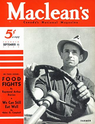 Cover for the September 15 1942 issue