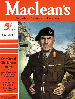 Cover for the November 1 1942 issue