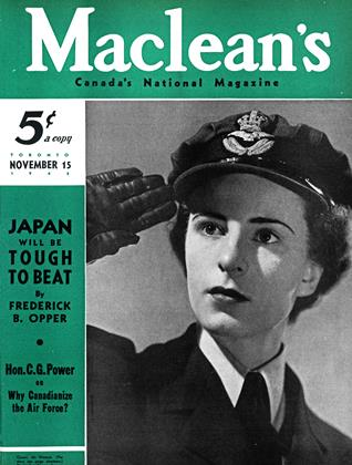 Cover for the November 15 1942 issue
