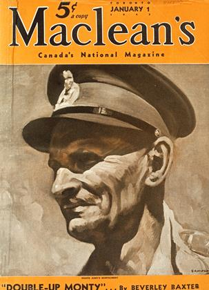Cover for the January 1 1943 issue