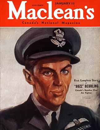 Cover for the January 15 1943 issue