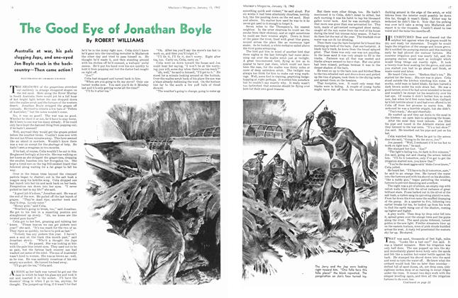 The Good Eye of Jonathan Boyle