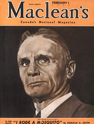 Cover for the February 1 1943 issue