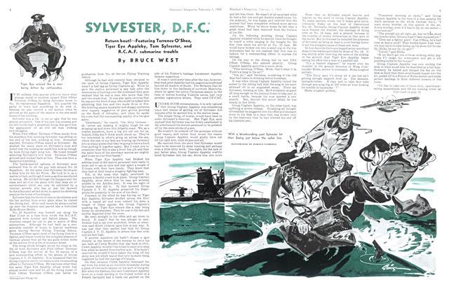 SYLVESTER, D.F.C.