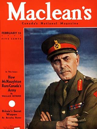 FEBRUARY 15 1943 | Maclean's