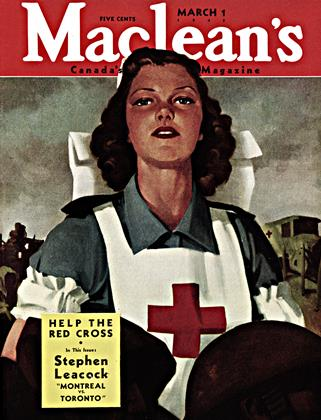 Cover for the March 1 1943 issue