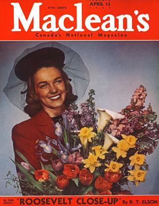 Cover for the April 15 1943 issue