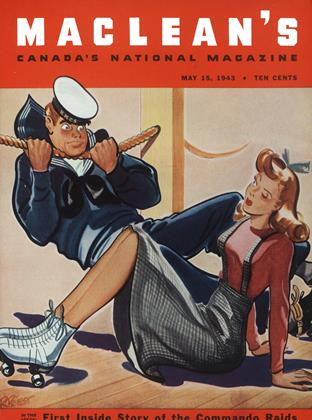 Cover for the May 15 1943 issue